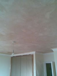 Example of plastering work